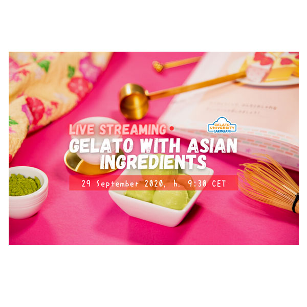 LIVE SESSION & RECIPE BOOK: Gelato with Asian Ingredients